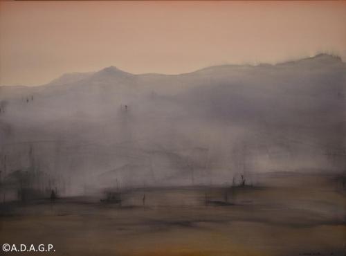 Composition N°18-07-16, acrylic on canvas, 200x270cm, 2016